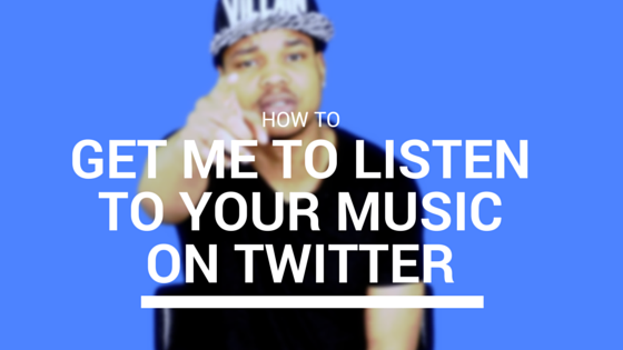 Jay Carteré| Jay Cartere | How To Get Me To Listen To Your Music On Twitter