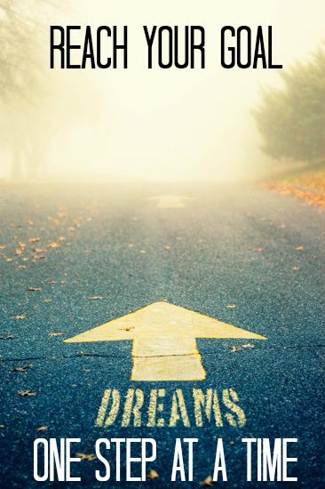 Jay Carteré  Jay Cartere  Reach your goal: one step at a time