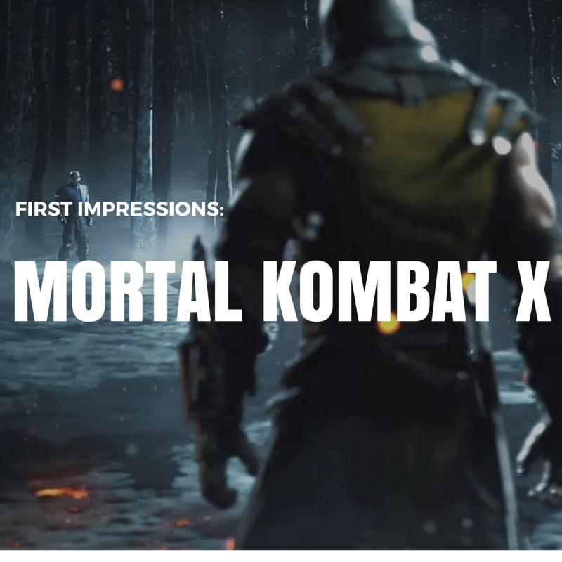 Jay Carteré | Jay Cartere | First Impressions: Mortal Kombat X