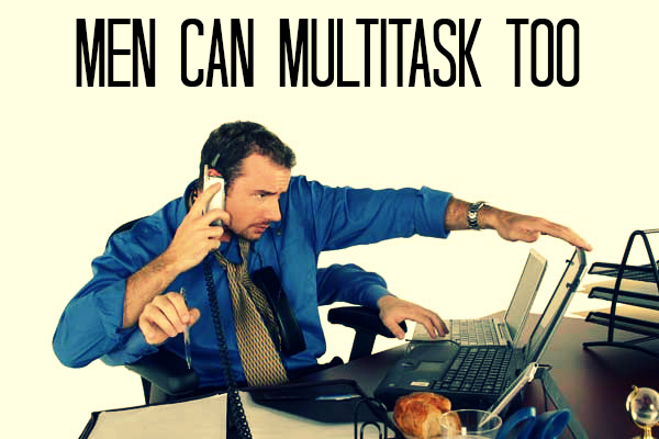 Jay Carteré|Jay Cartere|Men Can Multitask Too