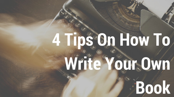 Jay Carteré | Jay Cartere | 4 Tips On How To Write Your Own Book