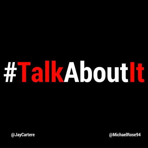 #TalkAboutIt   Talk About It   Podcast   London  Jay Carteré   Jay Cartere