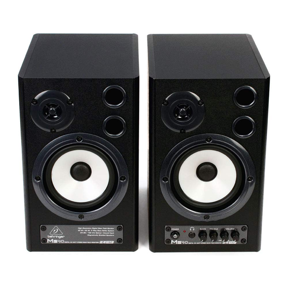 BUDGET DIGITAL MONITOR SPEAKERS